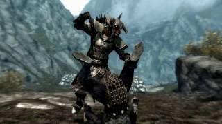 The Elder Scrolls V : Skyrim. Добивания кулаками и щитом
