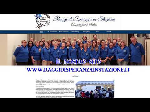 Preview video Il 2018 di Raggi di Speranza in Stazione