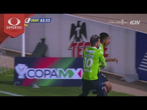 9314d9a3e Gol de Omar Panuco | Juárez 1 - 0 Pumas | Copa MX - Semifinal | Televisa  Deportes