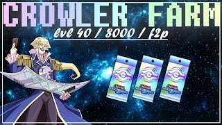 [Yu-Gi-Oh! Duel Links] How To Farm Dr. Vellian Crowler | F2P, Lvl 40, 8000 Points