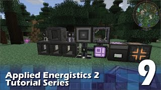 Applied Energistics 2 Tutorial #9 - Auto Inscribers