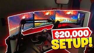 MY INSANE $20,000 GAMING SETUP!