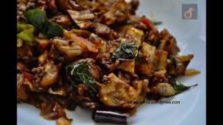 Easy Kerala Mushroom Rost/Mushroom Peralan/Mushroom Ularthiyathu /Koon Roast-with Subtitle Recp 59