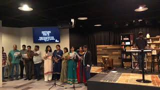 Indian Community Church, Boston, USA, MEETING BY PASTOR JOHNWESLEY HOSANNA MINISTRIES