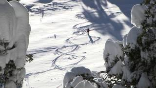 preview picture of video 'Hotel Michlifen Ifrane sous la neige hd 1080'