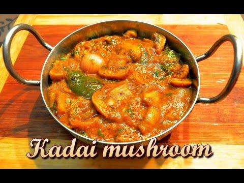 Video Kadai Mushroom Recipe/ Restaurant Style Kadai Mushroom/ Step by step easy recipe by KHANA MANPASAND