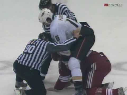 George Parros vs Brian McGrattan