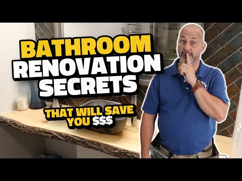 Bathroom Renovation Secrets to Success (Without Breaking the Bank!)