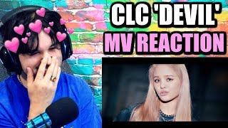 CLC(씨엘씨)   'Devil' Official Music Video   BIAS WRECKED!   REACTION!!