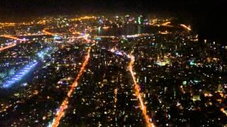 Night Take-Off From Mumbai Airport (Sea Link View)