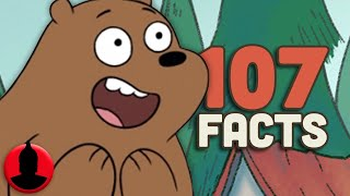 107 Facts About We Bare Bears - (ToonedUp #82) @ChannelFred