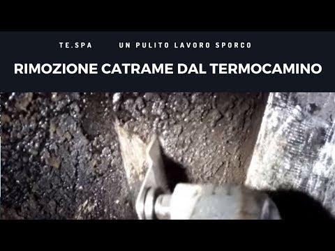 Rimozione Catrame Termocamino Cagliari Medio Campidano