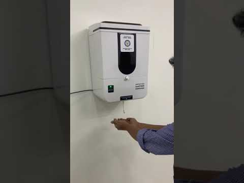 DRDO - DEVELOPED  AUTOMATIC HAND SANITIZER