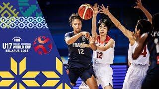 Japan v France - Full Game - FIBA U17 Women's Basketball World Cup 2018 | Kholo.pk