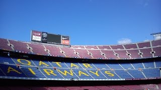 preview picture of video 'Barcelona Experience Tour - stadion Camp Nou'