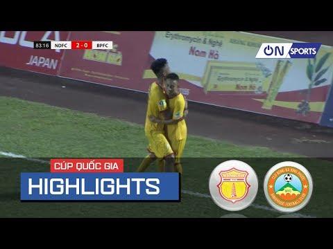 Nam Dinh - Binh Phuoc 3:0. Видеообзор матча 28.06.2019. Видео голов и опасных моментов игры