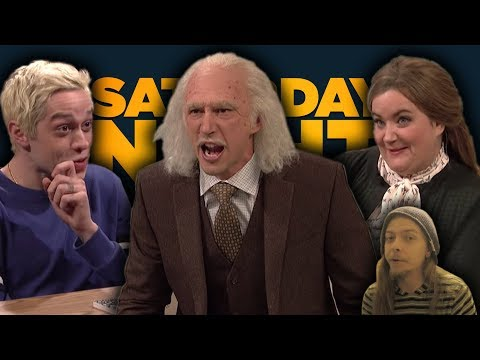 Career Day: Saturday Night Live | Pete Davidson Adam Driver(SNL REACTION)