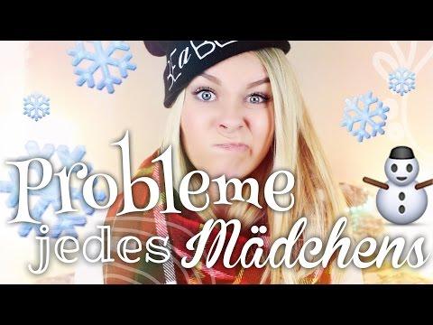 PROBLEME JEDES MÄDCHENS im Winter - #BEEcember ❄ | Dagi Bee