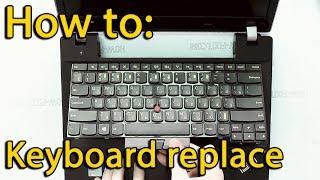 Lenovo E330 keyboard removing - मुफ्त ऑनलाइन