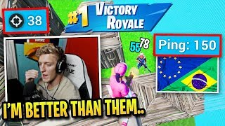 Tfue played Europe & Brazil Cash Cup and this happened...