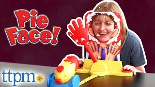 Pie Face Cannon Game Challenge - Party Game Review   Hasbro Toys & Games