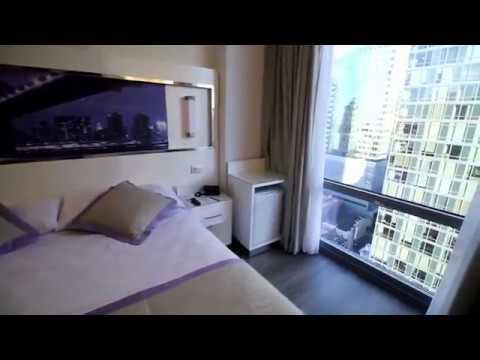 RIU New York Hotel TOP FLOOR Executive King Room Review and Walkthrough.