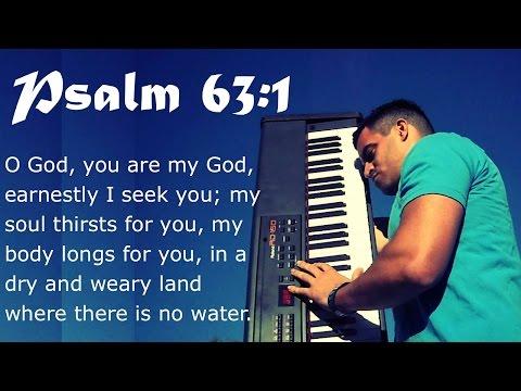 Psalm 63:1 Piano Worship Music, Instrumental Worship Music, Prayer Music