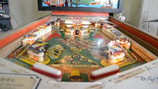 Gottlieb Pinball Pool With Powerball Added.