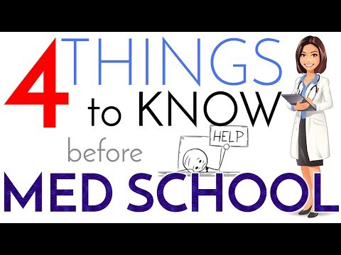 4 Things to Know Before the First Day of Medical School