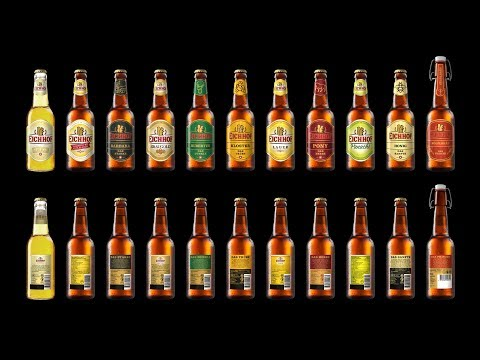 Heineken's Eichhof 3D renderings of beer bottles by Joel Stutz