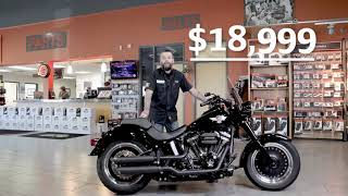 Pre-Owned Pick of the Week: 2017 Harley-Davidson Fat Boy® Lo S - $18,999