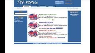 How to Signup for MCA   TVC Matrix Walkthrough