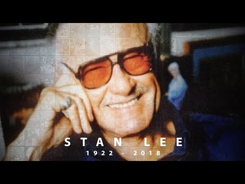 Marvel Remembers the Legacy of Stan Lee (видео)