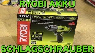 RYOBI ONE+ AKKU SCHLAGSCHRAUBER R18IW3-0   KrisGarage