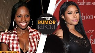 Nicki Minaj Hints Foxy Brown Collab, Amber Rose Says Kanye West And Donald Trump Are The Same - Video Youtube