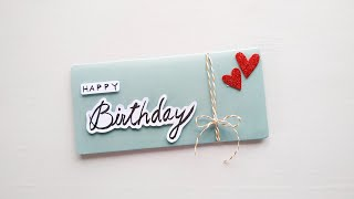 Beautiful Birthday Card Making | DIY Birthday Card Ideas | Dinesh Arts