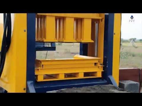 Manual Cement Brick Making Machine