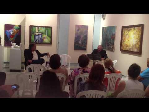 Presentación libro Daniel Nina, Ponce, Puerto Rico
