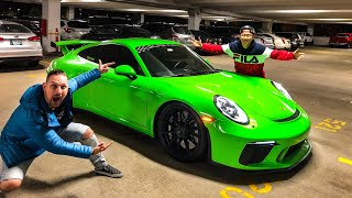 THEY GAVE US A NEW 991.2 PORSCHE GT3 BRIGHT GREEN!!