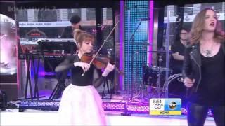 Lindsey Stirling  - Shatter Me Ft Lzzy Hale   GMA Live