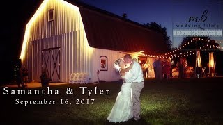 Beautiful, Rustic Fall Wedding At The White Barn! {Samantha & Tyler}