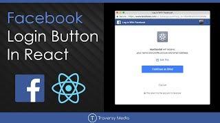 Facebook Login Button In React