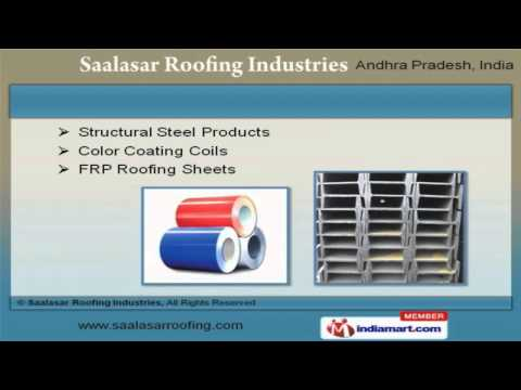 Corporate Video of Saalasar Roofing Industries, Jeedimetla