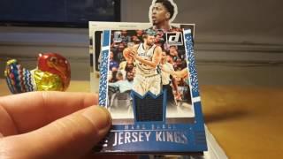 Panini 2016-17 Donruss NBA Basketball hobby box break and review