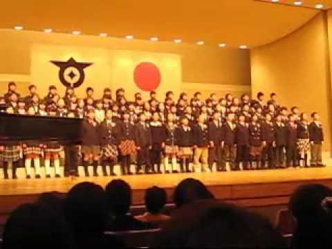嶺町小学校卒業式・歌・111