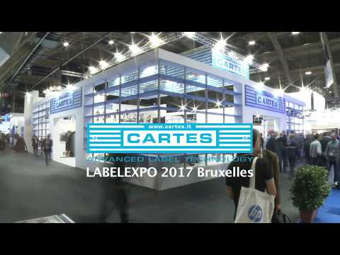CARTES GT360 series during LABELEXPO 2017