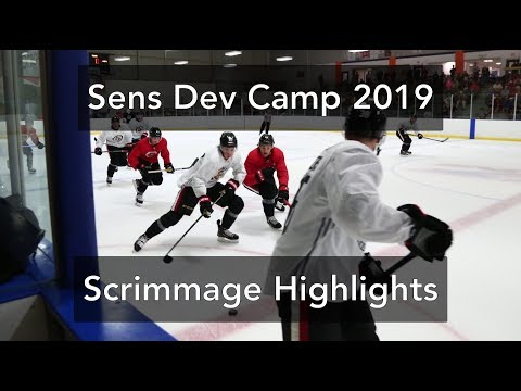 Ottawa Senators Development Camp 2019 - Scrimmage Highlights