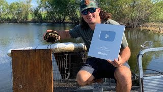 Homemade Turtle Trap!! {Catch Clean Cook} TURTLE SOUP