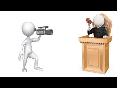Ходатайство о фото-видеосъёмке судебного заседания