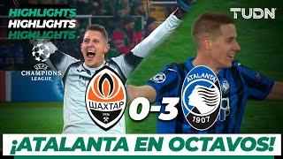 Highlights   Shaktar Donetsk 0 - 3 Atalanta   Champions League - J 6 - Grupo C   TUDN